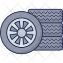 Car Tier Tier Wheel Icon