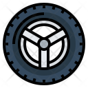 Car Tire Drive Icon