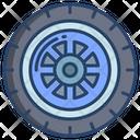 Car Tire Wheel Tire Icon