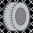 Car Tire Icon