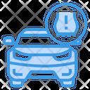 Car Tire Pressure Icon