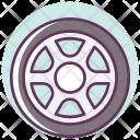 Car Tire Wheel Icon