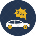 Car Tired Due To Fuel Car Driver Icon