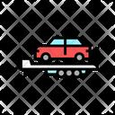 Car Toeing Transportation Animal Icon
