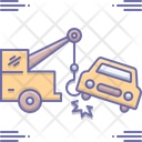Car Towing Car Towing Icon