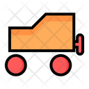 Baby Little Car Toy Icon