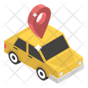 Car Tracker Icon