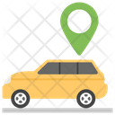 Car Locator Vehicle Tracking Gps Icon