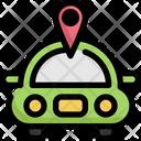 Car Tracking Icon