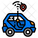 Car Tracking Icon