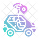 Car Smart Internet Icon