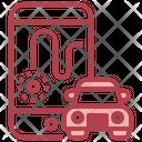 Car Tracking App Icon
