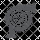 Car Turbine Auto Icon