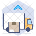 Car Courier Parcel Icon