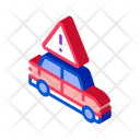 Alarm Car Danger Icon