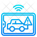 Car Warning Smart Car Car Application Icon