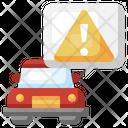 Car Warning Icon