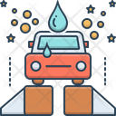 Car Wash Car Wash Cleaning Professional Icon