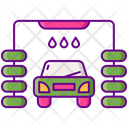 Car Wash Automated Car Wash Car Washing Icon