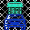 Car Wash Car Cleaning Car Service Icon