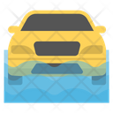 Car Wash Soapy Wash Car Cleaning Icon
