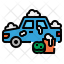 Car Washing Clean Icon