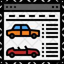 Car Websites Web Icon