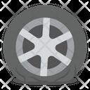 Car Wheel Car Tyre Alloy Tyre Icon