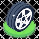 Auto Wheel Car Wheel Sports Wheel Icon