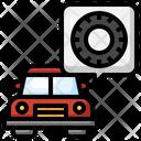 Car Wheel Icon