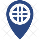 Car Wheel Tuning Icon
