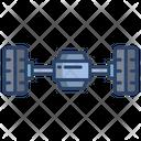 Car Wheels Wheel Balancing Wheel Alignment Icon