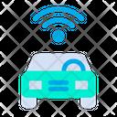 Car Wifi Signal Icon