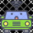 Car Wifi Smart Car Icon