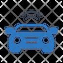 Car Vehicle Signal Icon