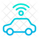 Car Signal Transport Icon