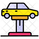 Car Workshop Auto Service Automobile Workshop Icon