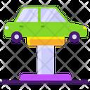 Car Workshop Auto Service Automobile Workshop Icon