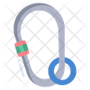 Carabiner Clibing Safety Icon