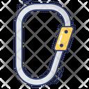 Carabiner Climb Adventure Icon