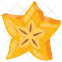 Carambola Star Pulpy Icon