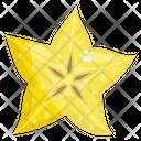 Carambola Star Fruit Fruit Icon