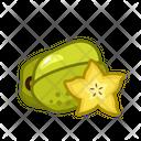 Carambola Fruits Fruite Icon