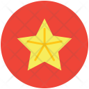 Carambola Slice Star Icon