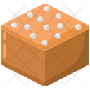 Caramel Toffee Candy Icon