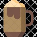 Caramel Ice Cream Icon