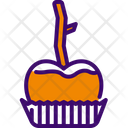 Caramelized Apple Organic Dessert Icon