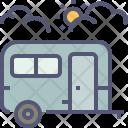 Caravan Tourist Travel Icon