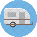 Caravan Convoy Transport Icon