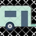 Caravan Convoy Transport Icon
